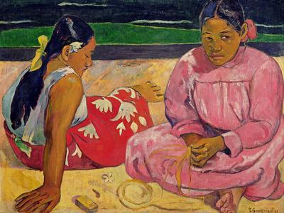 Women of Tahiti, on the Beach, 1891