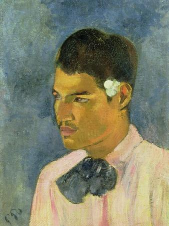 Young Man with a Flower Behind His Ear, 1891