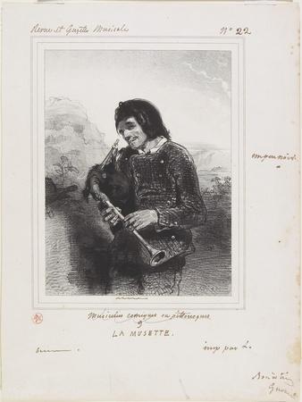 La Musette (The Bagpipe Player), 1844