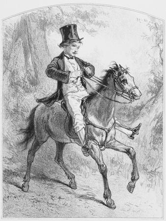 Le Locati, Plate 18 from Les Toquades, 1858