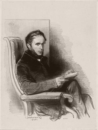 Raymond La Garrigue, 1842