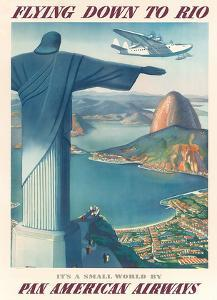 Pan American: Flying Down to Rio, c.1930s by Paul George Lawler