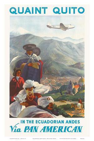 Pan American: Quaint Quito - In the Ecuadorian Andes, c.1938
