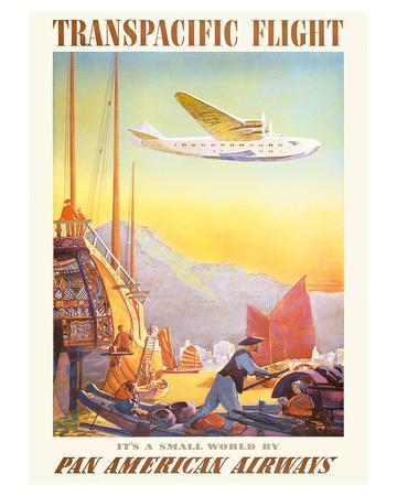 Pan American: Transpacific Flight, c.1940s