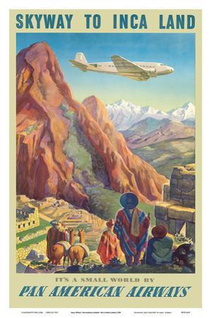 Skyway to Inca Land - Pan American Airways (PAA) by Paul George Lawler