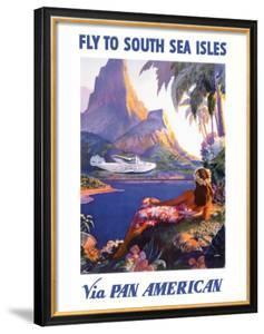 South Sea Isles via Pan Am by Paul George Lawler
