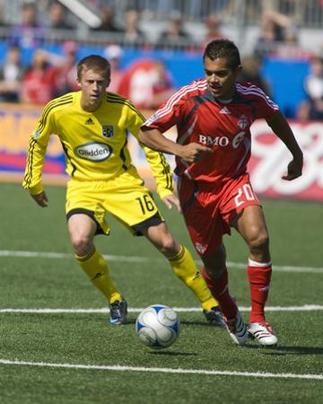 May 17, 2008, Columbus Crew vs Toronto FC - Brian Carroll by Paul Giamou