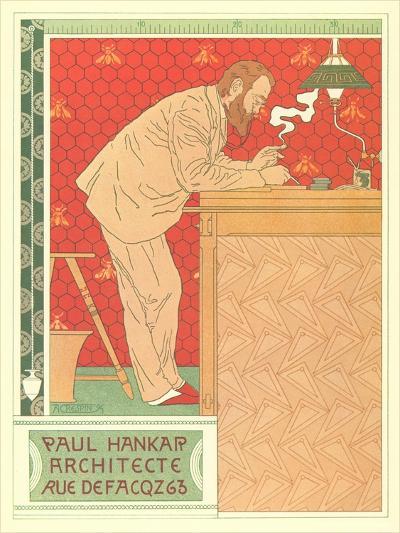 Paul Hankar, Architect--Art Print