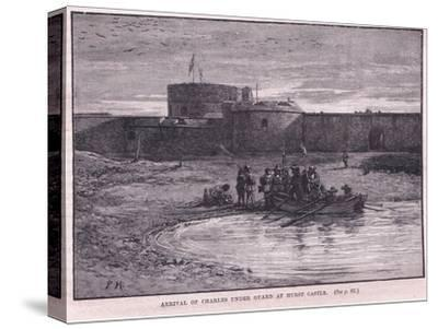 Arrival of Charles I under Guard at Hurst Castle Ad 1648