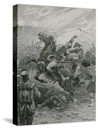 Death of Sir Edward Pakenham at the Battle of New Orleans, 1814