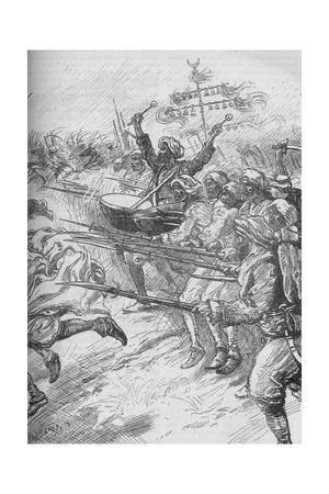 'The Janissaries Rushed To The Attack At Full Speed And With Fixed Bayonets', 1902