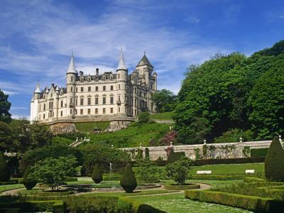 Dunrobin Castle, Golspie, Scotland; it Dates in Part from the Early 1300S