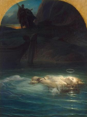 Christian Martyr Drowned in the Tiber During the Reign of Diocletian, 1853