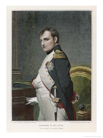 Napoleon Emperor of France in His Study Circa 1807