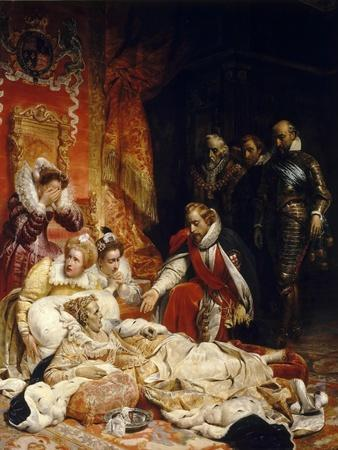 The Death of Elizabeth I, Queen of England