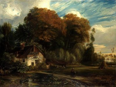 Caretaker's Cottage in the Forest of Compiegne, 1826