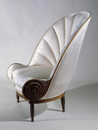 Art Deco Style Armchair, Ca 1913