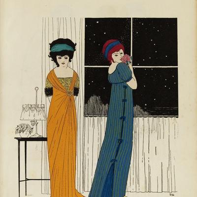 Les Robes de Paul Poiret racontées par Paul Iribe, Paris, 1908