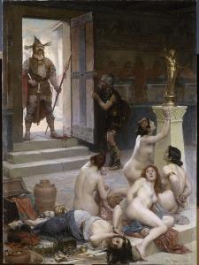 Brennus et sa part de butin by Paul Joseph Jamin