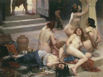 Female Prisoners, from Brennus Et Sa Part De Butin (Brennus)