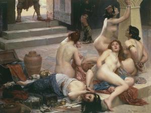 Female Prisoners, from Brennus Et Sa Part De Butin (Brennus) by Paul Joseph Jamin
