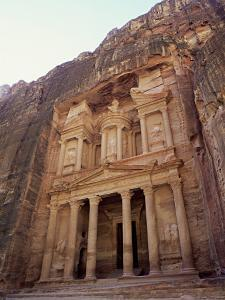 """The """"Treasury"""" Petra, Jordan by Paul Kay"""