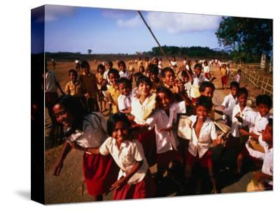 Playtime for School Children of Watu Karere, Sumba, East Nusa Tenggara, Indonesia