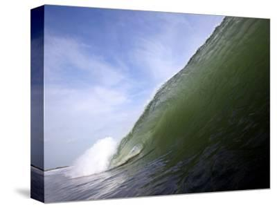 Unridden Wave at Popular Surfing Beach Playa Aserradores