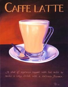 Urban Caffe Latte by Paul Kenton