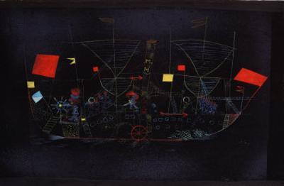 Abenteuer-Schiff, 1927 by Paul Klee