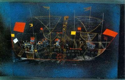 Abenteur - Schiff by Paul Klee