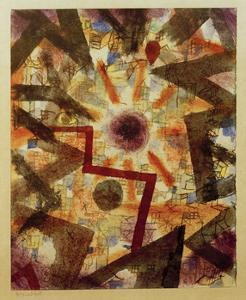 And There Was Light by Paul Klee