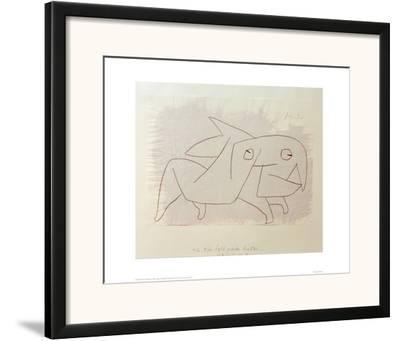 Animal Soon to be Merry Again by Paul Klee