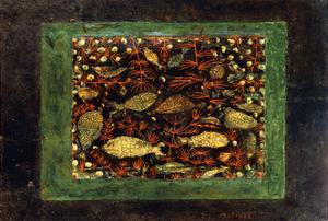 Aquarium by Paul Klee