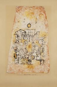Arabian City; Arabische Stadt by Paul Klee