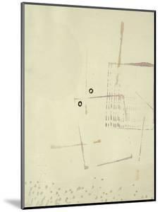 Arich Hier Eim Gesicht by Paul Klee