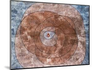 At the Core; Um Den Kern by Paul Klee