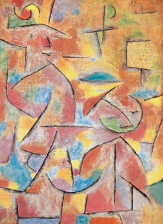 Bimba e Zia, c.1937 by Paul Klee