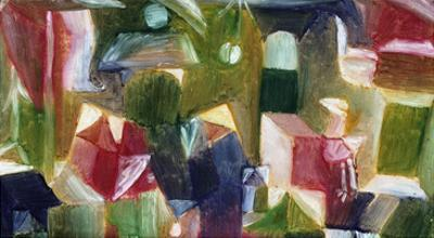 Bird Picture; Vogelbild by Paul Klee