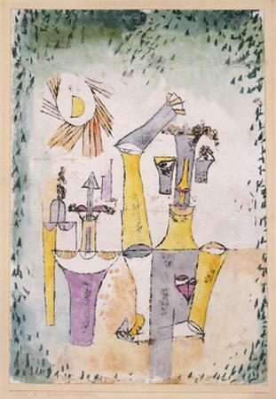 Black Magic by Paul Klee