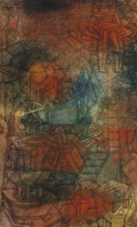 Buhnenprobe by Paul Klee