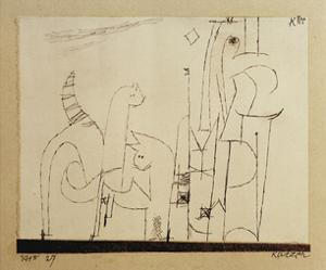 Cats by Paul Klee