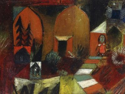 Child as a Hermit by Paul Klee