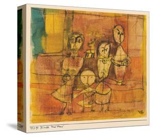 Children and Dog by Paul Klee