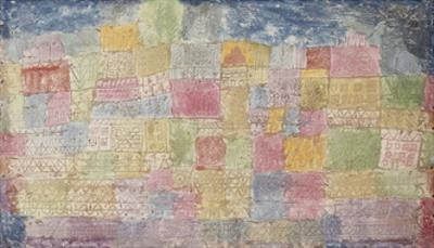 Colourful Landscape by Paul Klee