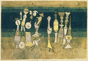 Comedy, 1921 by Paul Klee
