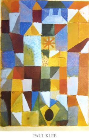 Composition with Yellow by Paul Klee