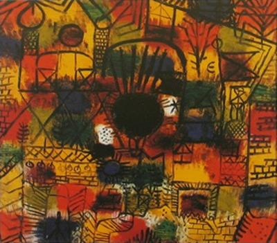 Composotion with Black Focus by Paul Klee