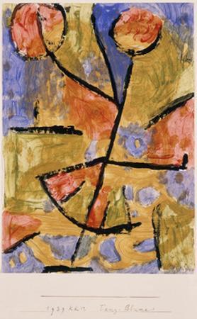Dance-Flower by Paul Klee