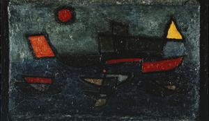 Departing Steamer by Paul Klee